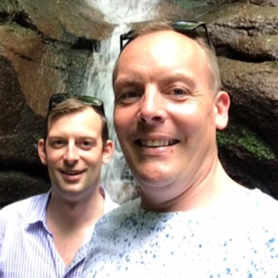 Doug Wrenn & Daniel Smith Phoenix Charity Trustees